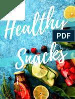 Intercambio snacks saludables