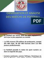 Observation et Analyse des matchs de football nouveau