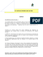 Nep 315 Questionnaire Pme Analyse Controle Interne