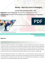 Green Packaging Market to exhibit a 6.20% CAGR till 2021 - Report by TMR