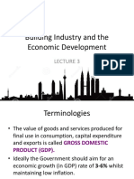 L3 Building Industry and the Economic Development