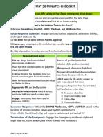Lead Resp Checklist