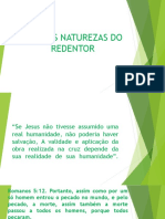 AS DUAS NATUREZAS DO REDENTOR
