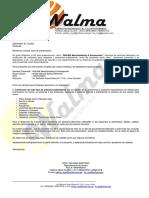 Carta Presentacion WALMA