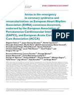 Cardiac arrhythmias in the emergency setting of ACS and revascularization