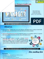 France Managers EmailLeads