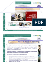 tacnetting, gestion de bases de datos (CRM, ERP, WORKFLOW)