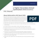 Maharashtra HSC Board Brochure