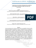 ESTRATÉGIAS DE COMUNICAÇÃO ONLINE E NÍVEIS DE ENGAJAMENTO VIRTUAL DO CONSUMIDOR