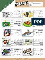 board games esl vocabulary multiple choice worksheet for kids