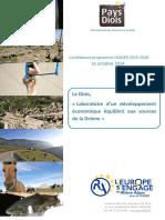 Pays du Diois - Candidature au programme LEADER 2015-2020