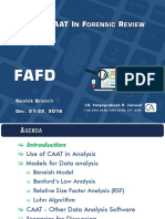 Forensic PPT - Use of CAAT in Forensic Review