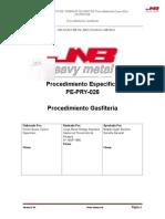 Procedimiento Op. gafiteria
