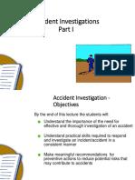 26 Nov 2019 Accident Investigation