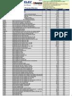 Lista de Precios Bticino