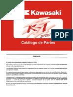 Catalogo de Partes Kawasaki-K1