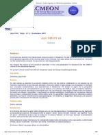 Alcmeón - Revista Argentina de Clínica Neuropsiquiátrica - Delirios