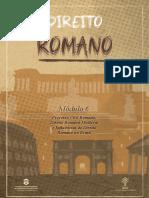 Direito Romano - Modulo 6 2019.2