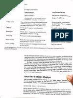 OM Service Blueprinting