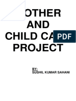 MOTHER AND CILD CARE PROJECT.docx