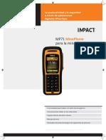 MP7102-H SAP 20912    -    MP71 Hardrock MinePhone