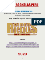 catalogo Video Rockolas Perú 2020