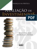 Avaliação de Investimentos - Respostas Exercícios Extras - Adriano Leal Bruni.pdf
