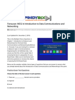 Forouzan_ MCQ in Introduction to Data Communications and Networking