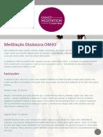 Meditação Dinâmica OSHO - Meditação OSHO Colômbia
