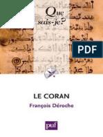 DEROCHE - Le Coran - Deroche Francois