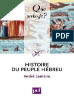 LEMAIRE - Histoire du peuple hebreu - Lemaire Andre