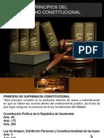 1.- Princicipios del Derecho Constitucional