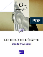 TRAUNECKER - Les dieux de l'Egypte - Traunecker Claude