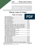 Argo 8x8 Wheels Axle chains
