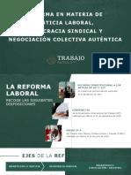 Presentación Democracia Sindical para Empleadores