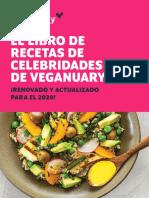 Recetas veganas de famosos