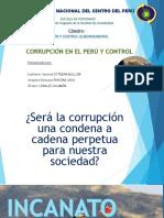 CORRUPCIÓN EN EL PERÚ Y CONTROL