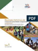 libro censo de comunidades campesinas