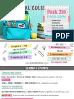 Catalogo Etiquetas Escolares 2020