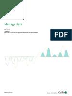 Manage data