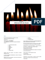 Oráculo con velas clase 1