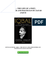 iqbal-the-life-of-a-poet-philosopher-and-politician-by-zafar-anjum