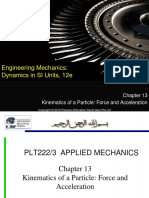 13-Chapter 13_Kinematics of Particle-Force & Acceleration