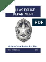 2020 Violent Crime Reduction Plan