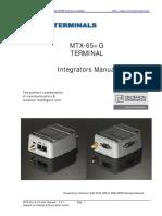 MTX-65+G-V3 user manual V3-7
