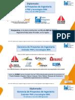 Gerencia de proyectos PMI