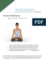 So Hum Meditation _ Banyan Botanicals