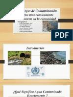 bioquimica contaminacion diapo