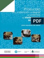 29. Protocolo para la atención integral de víctimas de violaciones sexuales. Instructivo para equipos de salud. Ministerio de Salud de la Nación – 2015.