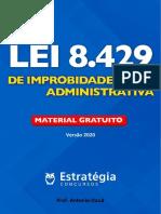 Lei de Improbidade 2020 - Prof Daud